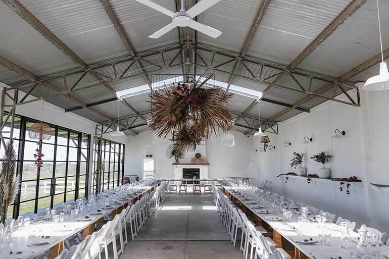 Barn Weddings at Seacliff becoming very popular