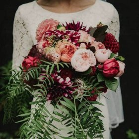 Boho wedding Native Flowers