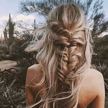 Wedding Hair | Maiden Hair